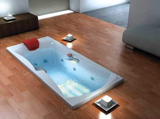 Therapeutic benefits of soaking jacuzzi and for Different types of tubs