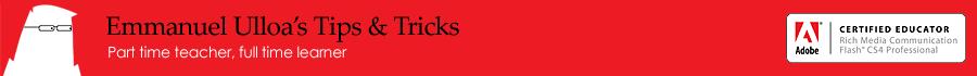 Emmanuel Ulloa Tips and Tricks