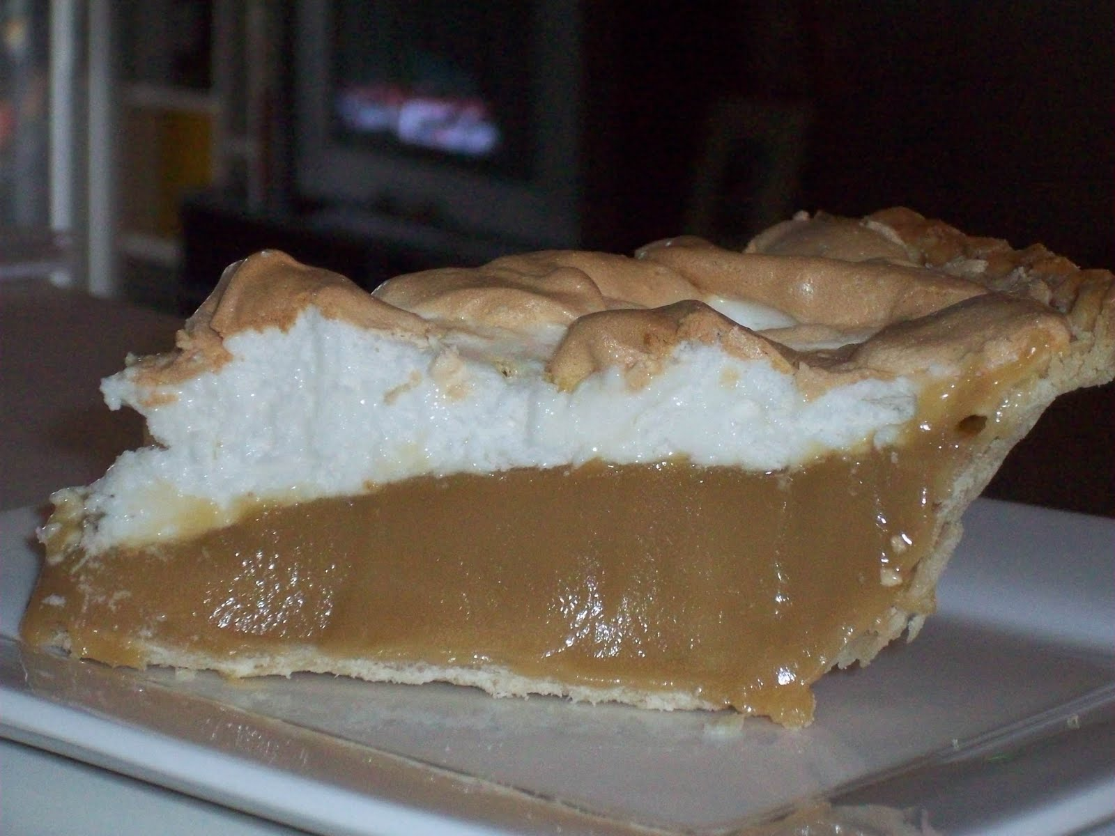 Dirty Little El Camino Lover: Butterscotch Meringue Pie