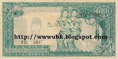 Rp 1000 Dua Penari Kipas