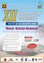 XII  Congreso  Nacional  de  Estudiantes  de  Educación  - ICA