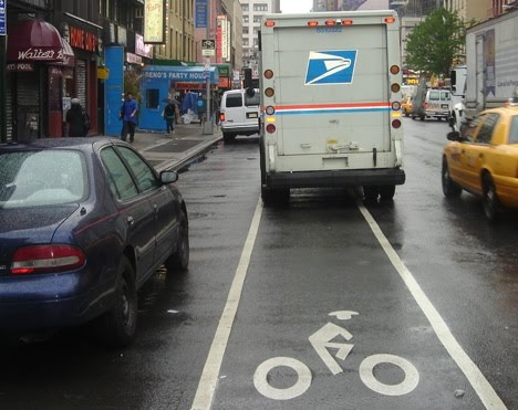 Life In NYC Bike Lanes