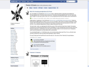 Free Download Template Mirip Facebook For Blogger