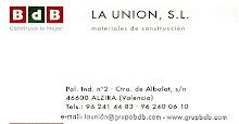"""BDB   LA UNION, S.L  materiales de construcción  AUSPICIA """"EL OJO VALE N TINO"""""""