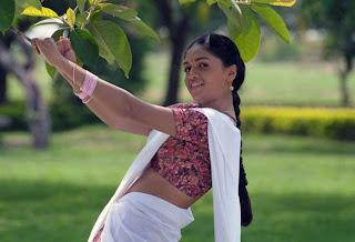 Sunaina in half saree cute photos 01