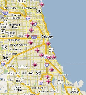 Chicago Crime Map - Recent Shootings   SpotCrime - The Public\'s ...