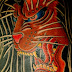 Japanese TATTOO Horimitsu style 獅子 Lion