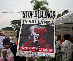 STOP KILLING TAMILS IN SRI LANKA