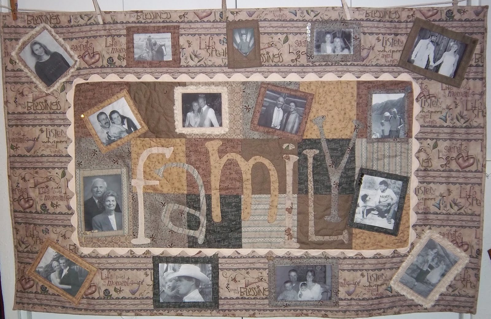 Tom Miner Quilts and Folk Art: Family Quilt finished : family quilts - Adamdwight.com