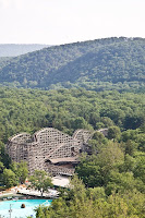 Knoebels Twister View