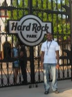 Hard Rock Park Front Gate