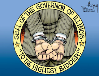 Illinois Governor sell out his office