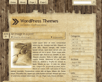 Papyrus Wordpress Template