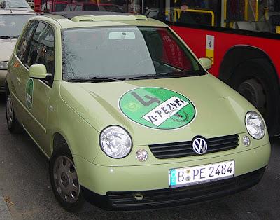 grüne Plakette