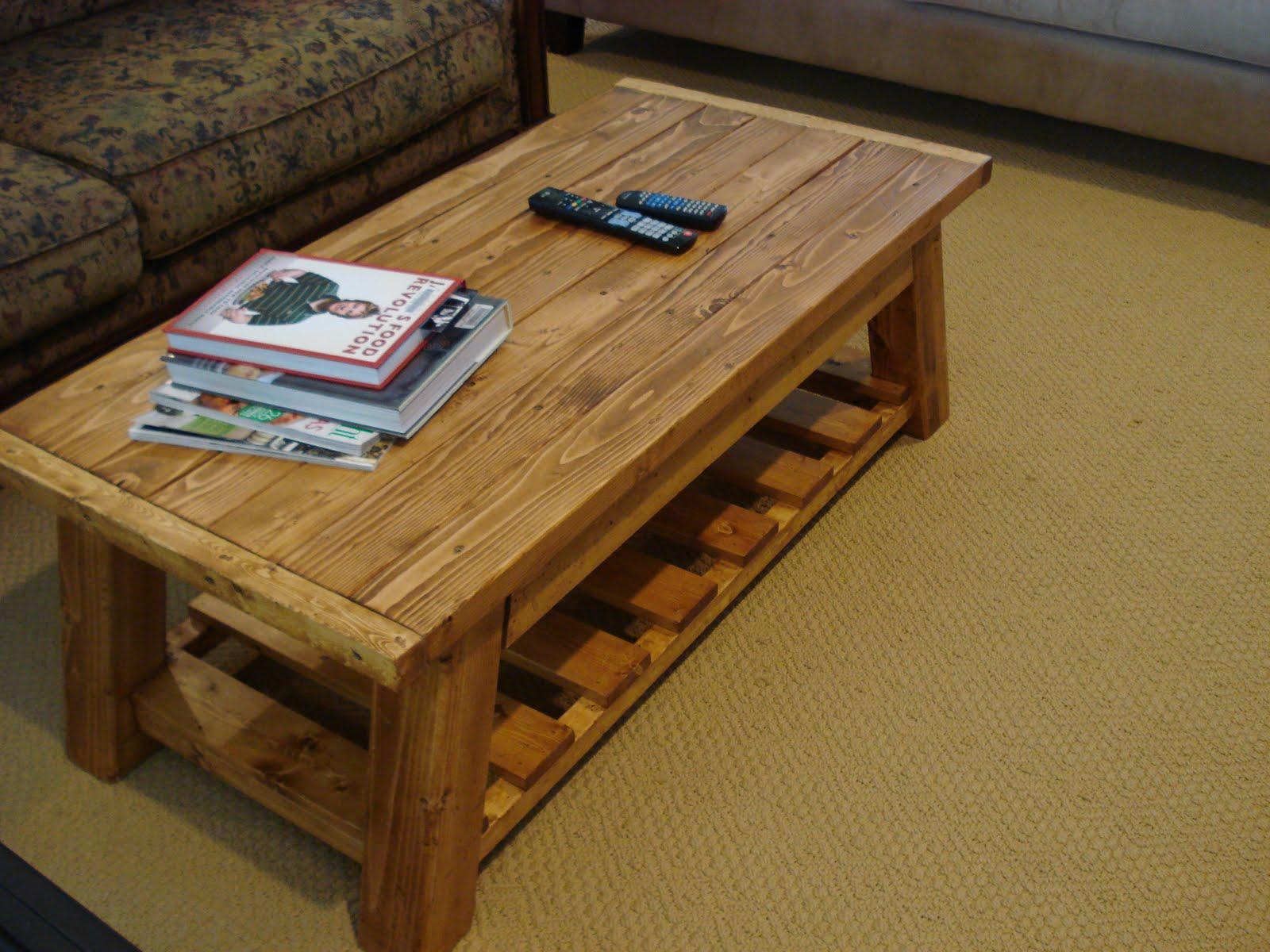 Chestnut Sparrow Coffee Table Construction