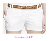 Shorts y bermudas: Mango 12€