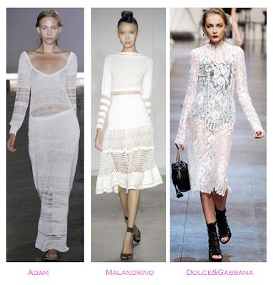 Parecidos Razonables: Adam vs Malandrino vs Dolce&Gabbana, Primavera-verano 2010