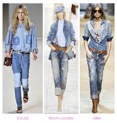 Parecidos Razonables: Chloé vs Ralph Lauren vs D&G, Primavera-verano 2010