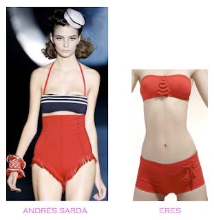Comparativa precios bikinis para mucho pecho: Andrés Sardá vs Eres