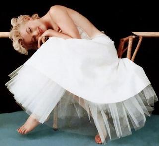 Marilyn con su actitud era pura sensualidad