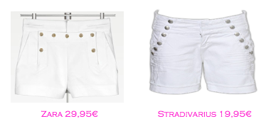 Shorts y bermudas: Zara 29,95€ - Stradivarius 19,95€