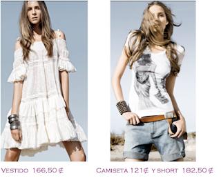 Lo más en marcas: Twin-Set: Chaleco denim 214€ - Vestido saimétrico negro 134€