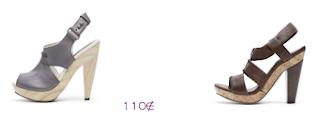Lo más en marcas: Bimba y Lola: Sandalias plataforma y tacón madera