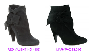 Botines estilo lady 7 Red Valentino vs MaryPaz