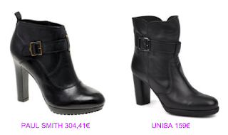 Botines estilo lady 11 Paul Smith vs Unisa