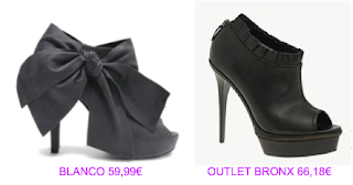Zapatos abotinados 3 Blanco vs Bronx Outlet