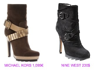 Botines estilo militar 11 Michael Kors vs Nine West