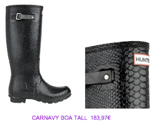 Bota Hunter Carnavy Boa Tall