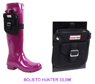 Bolsito botas Hunter