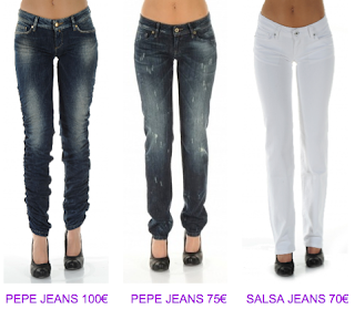 Jeans Push Up Salsa Jeans 2010/2011