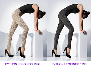 Leggings print animal Wolford 6 2010/2011