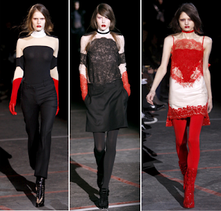 Looks góticos Givenchy 4 2010/2011