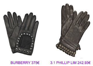Guantes Burberry