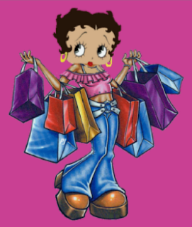 Betty Boop Shopping