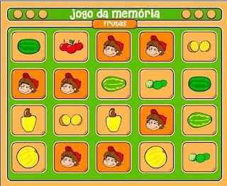 jogo da memoria