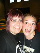 My (Teish) best friend, Jaime and I