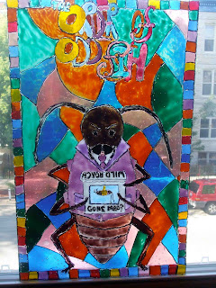 Order of Odd-Fish Stained Glass