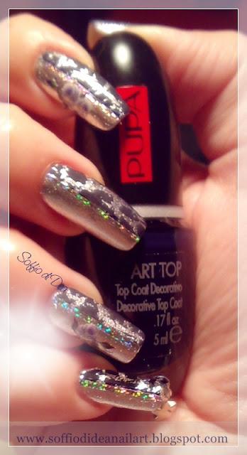 pupa+nail+art+kit+argento+blu