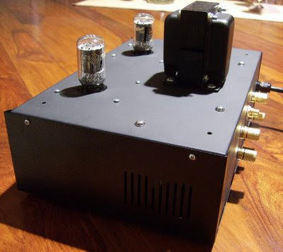 DIY 6T9 Valve Amplifier Kit