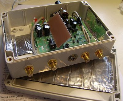 Moving Magnet Phono Preamp Kit Enclosure