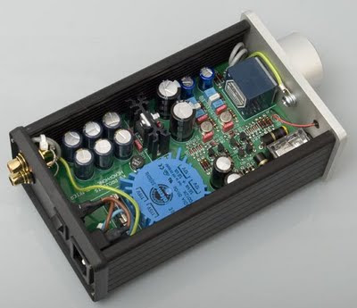 DIY High-End Headphone Amplifier