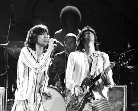 the rolling stones in the 70s