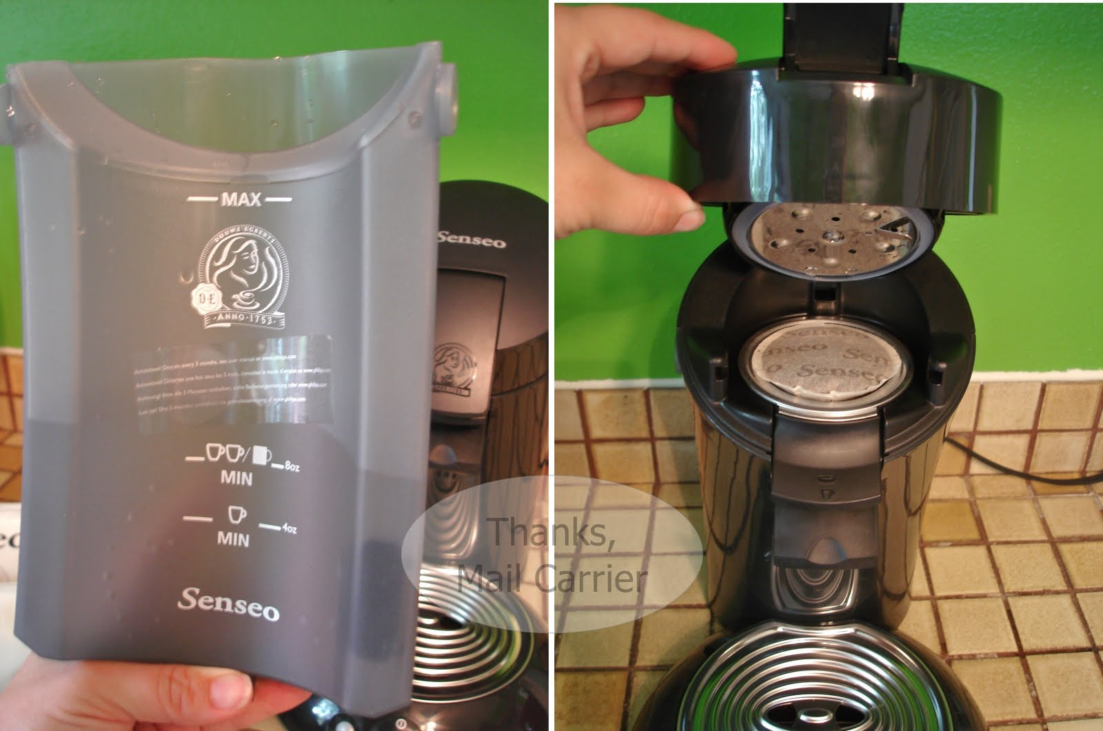 Senseo Coffee Maker Blinking Red Light : Thanks, Mail Carrier Anniversary Bash #8: Senseo Single-Serve Gourmet Coffee Machine {Review ...