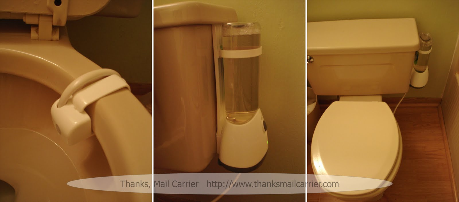 Thanks Mail Carrier Scrubbing Bubbles Automatic Toilet