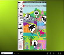 """Capa da Revista """"Agenda VivaMúsica!"""" - Clique na imagem"""