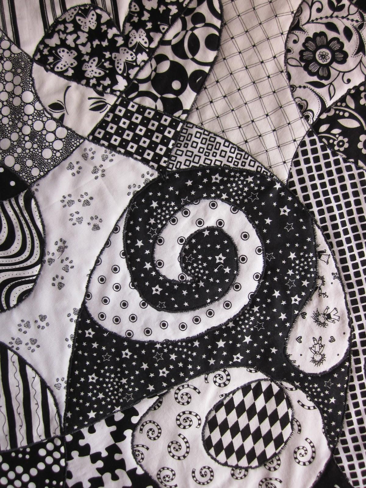 ~ Zany Quilter ~: Zentangle Quilt Tutorial